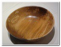 Large Bowl in Spalted Beech
