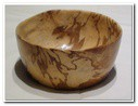 Small Bowl in Spalted Beech